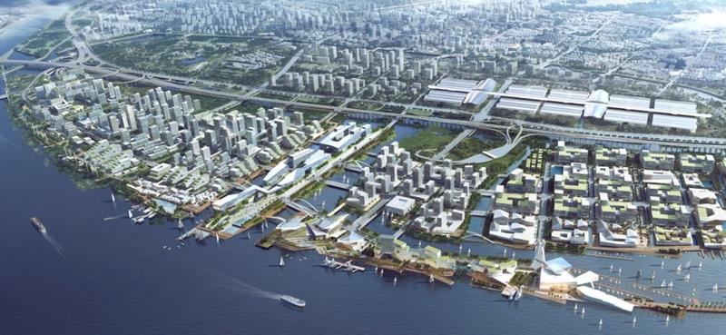 """深圳:打造全球海洋中心城市先锋范例""""海洋新城""""首次亮相海博会"""