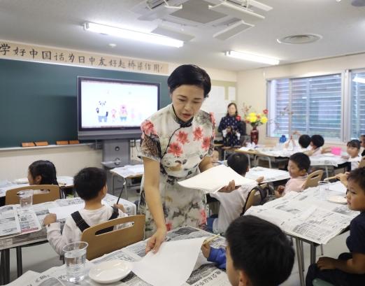 日本兴起中文热 中日交流之桥越发坚实