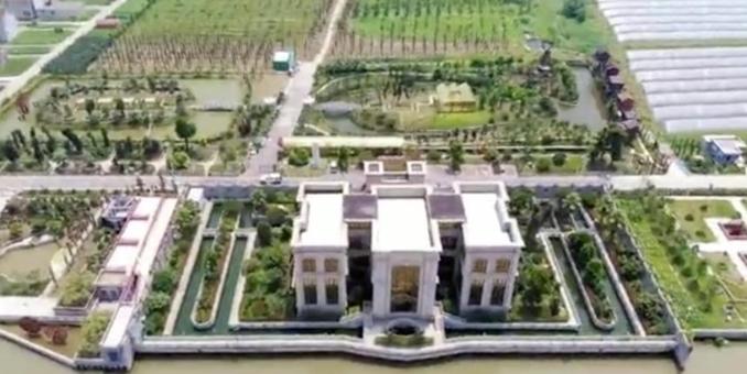 江苏1.3亿豪宅被拆除现场