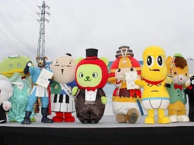 日本长野举行一年一度吉祥物大赛