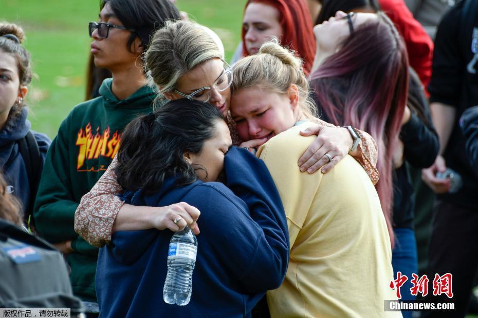 美国南加州发生校园枪击案 16岁嫌犯身份确认