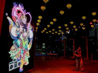第九屆廣州國際燈光節開幕在即 探營主會場海心沙