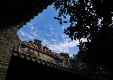 广州最古老的书院的冬日暖阳