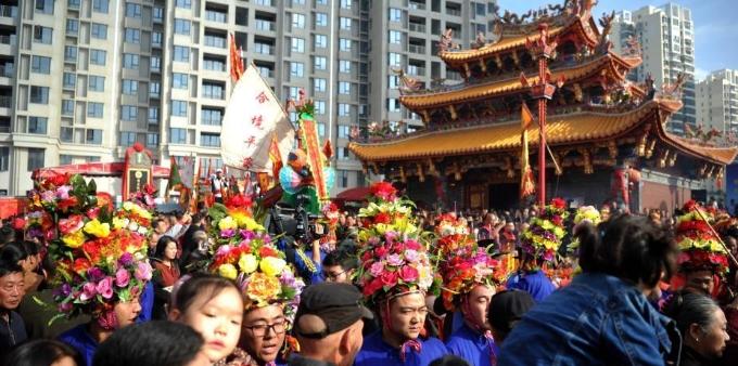 厦门海沧钟山送王船文化节举行