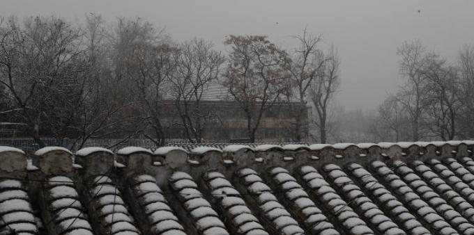 第二场雪来了 北京大部分地区将现大于5毫米降雪