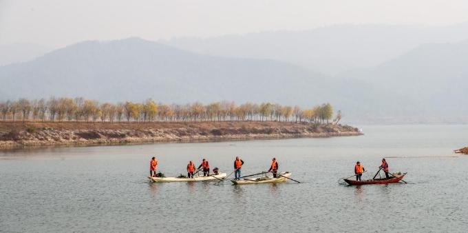 江西峡江:落实河长制 改善水环境