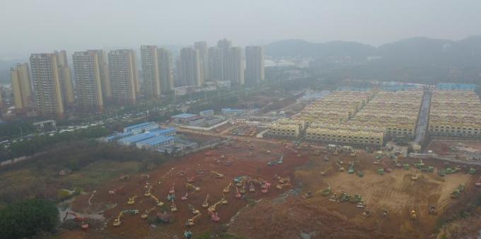 """武汉""""小汤山模式""""医院开建 预计2月3日前建成"""