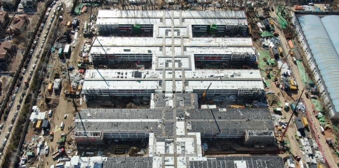 """北京""""小汤山医院""""加紧建设"""