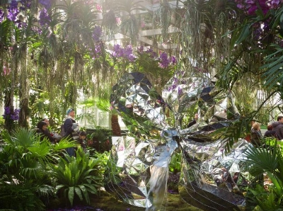 纽约植物园举行第18届兰花展