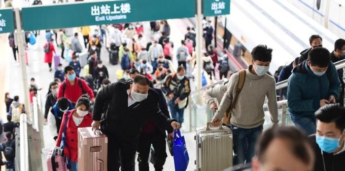 深圳北站返深客流低位运行