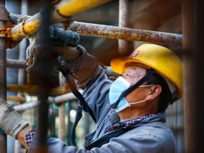 浙江淳安:亞運會自行車館建設復工