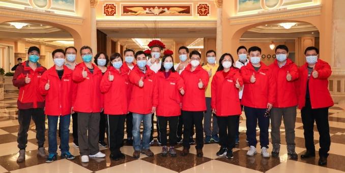 广东省支援荆州医疗队最后一批返粤队员到达休疗地点