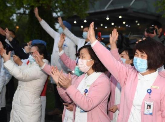 浙江国家紧急医学救援队返杭 曾转战4家方舱医院