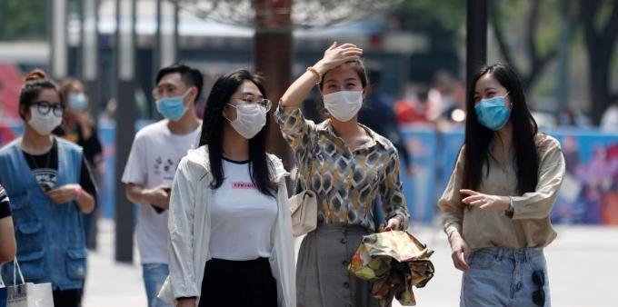 北京出现持续高温天气