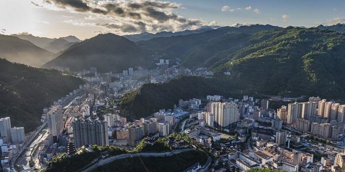 秦岭深处的美丽小城