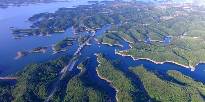 南水北调丹江口水库生态美