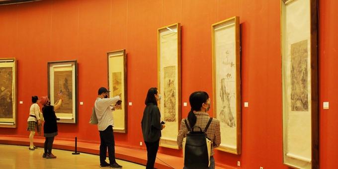 中国美术馆有序开放 每日限额500人