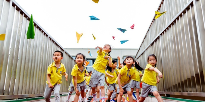 浙江长兴:乐享童年 幸福成长