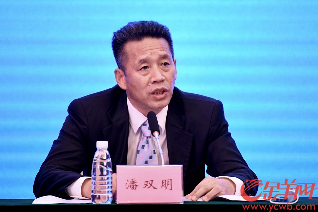 广州市交通运输局党组书记、局长潘双明