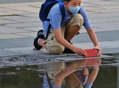 一氹水折射出广州街坊的欢乐