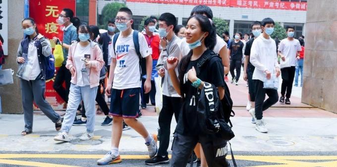 武汉2020年中考开考
