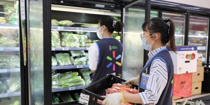 大连各大商超市场供应充足价格稳定