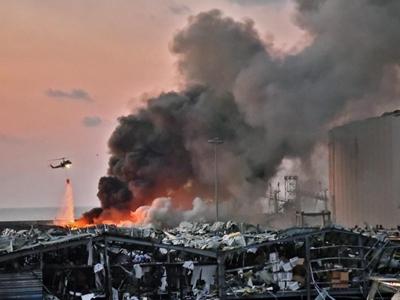 黎巴嫩贝鲁特大爆炸波及半个城区