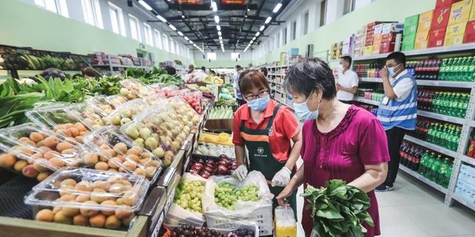 北京新发地市场复市重启