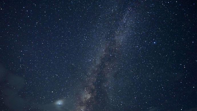 贵州从江:璀璨星空如梦如幻