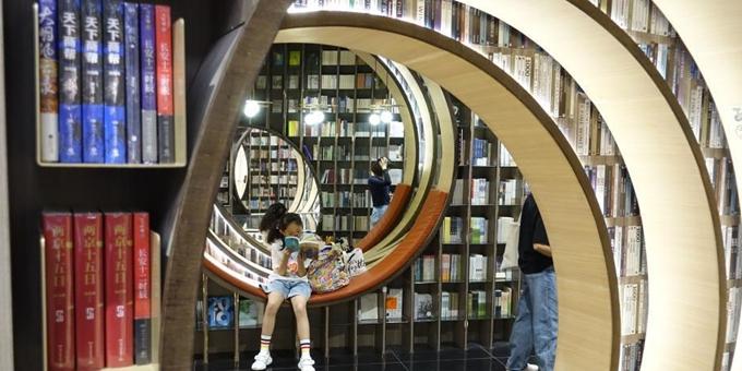 北京市民书店消暑充电
