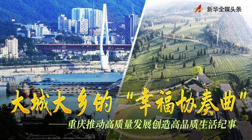 """大城大乡的""""幸福协奏曲""""――重庆推动高质量发展创造高品质生活纪事"""