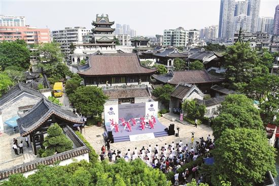 广州首个非遗街区开市 永庆坊4A景区获授牌