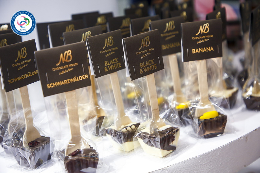 专访丨奥园英德巧克力王国亮相旅博会 主题新颖引关注巧克力1