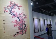 何为百年书画学术研究暨师生作品展广州开幕