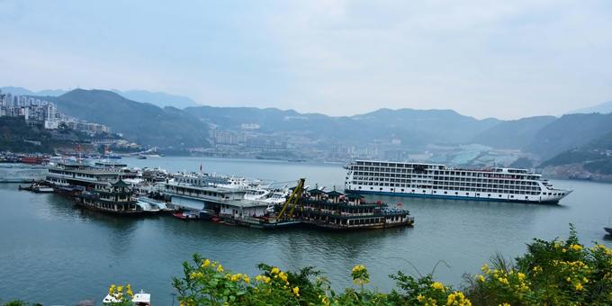 重庆巫山:平湖如画