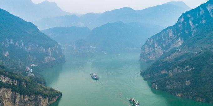 三峡水库蓄水接近目标 航运通畅