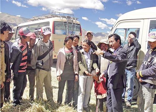 雪域之巅的青稞使者——追记西藏自治区农牧科学院党组副书记、院长尼玛扎西(上)