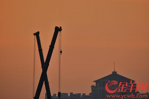 近两天,广州气温有所回升,晴空万里,天空湛蓝。暖暖的太阳让街坊感觉舒畅多了,孩童在绿茵嬉戏,小鸟也纷纷出来撒欢。羊城晚报全媒体记者陈秋明 摄