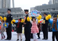 首个警察节,广州海心沙警营开放日活动