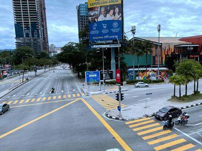 """马来西亚首都吉隆坡等地二度""""封城"""""""