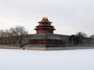 北京迎来2021年首场降雪