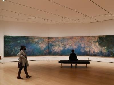 疫情下的纽约现代艺术博物馆保持开放