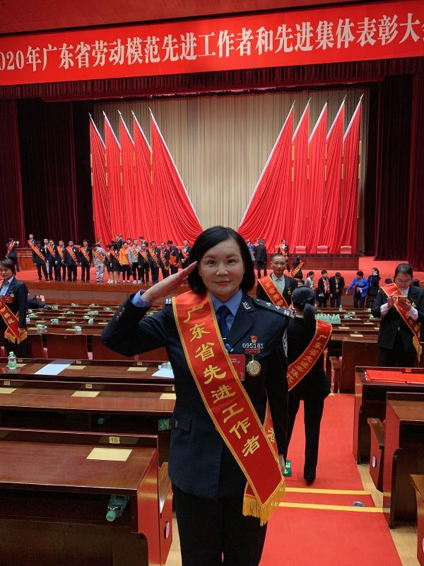 致敬!广东三名女民警获授二级英