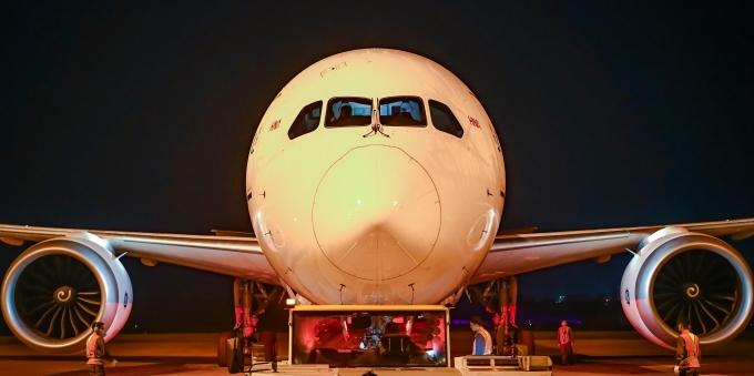 海南自贸港首条定期洲际货运航线正式开通