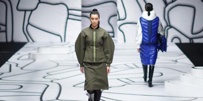 中国国际时装周 :设计师丁洁带你感受不一样的霓裳光影