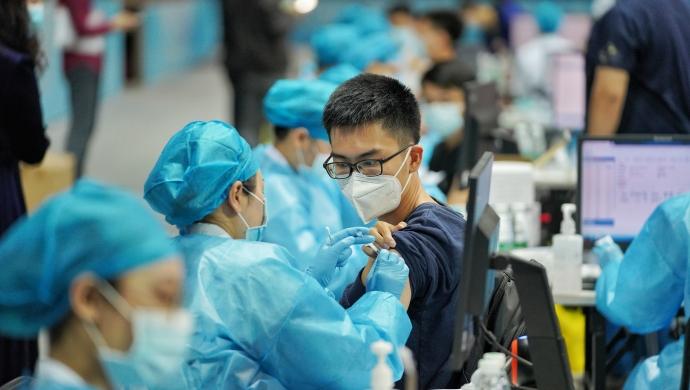 广东工业大学接种新冠疫苗