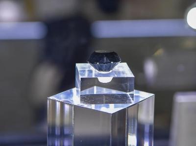 88克拉黑钻石亮相首届消博会