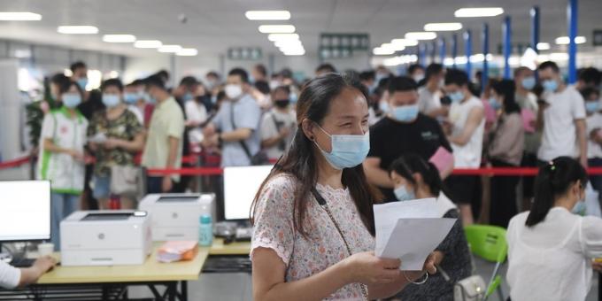 【图集】广州市民踊跃接种疫苗
