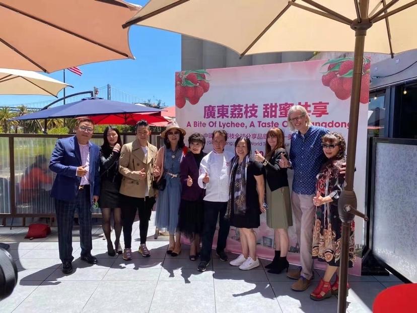 甜蜜与世界分享!广东荔枝全球品鉴走进美国旧金山