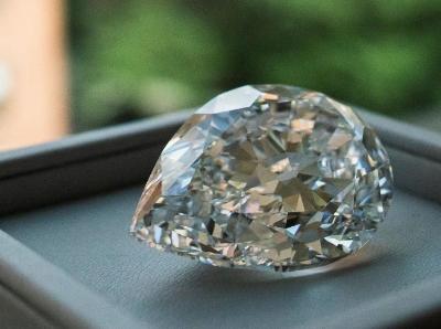 纽约苏富比展示罕见100多克拉D色无瑕钻石